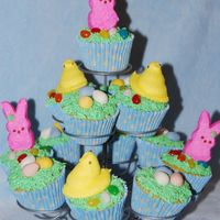 Easter Peeps Cupcakes Happy Easter!!!!