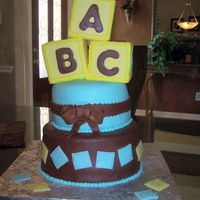 Baby Blocks Baby Shower