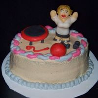 Excerise Cake excerise cake I know I know contradiction. oh well!