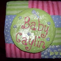 Baby Shower from the napkin from the shower.