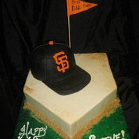 Giants-Themed Cake!