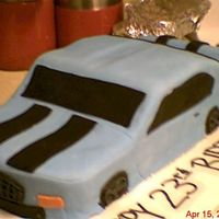 3D Car Cake  This was my first 3D car, hand sculpted. I had 1 day to do the whole thing(don't you just love last minute orders?)! Anyway, it was...