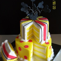 Fun With Mickey butter cream with fondant decor