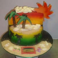 Jamaican Themed Birthday Cake Gallery on Cake Central
