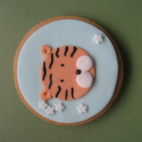 Chinese New Year Tiger Cookie year of the tiger 2010
