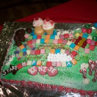 Candy Land This cake was for my daughters sixth birthday. She loved it and it was so easy and FUN to make!!!!!!
