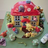 Mr Men This is my version of Debbie Brown's Mr Men cake with a few extras. This was my 2nd fondant cake, most ppl would start by making...