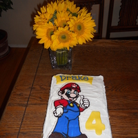 Mario Fbct I am no pro for sure, but I do have fun making my kids' birthday cakes. My 4 year old has just discovered video games & loves...