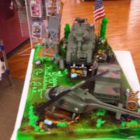 6 Year Old G.i.joe Party Cake