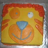 Cartoon Cake  This cake was made for my friends daughter who was celebrating her first birthday and i was in middle of completing course one and wanted...