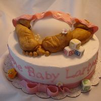 Baby Butt Cake  Here's my rendition of the oh so cute Baby rump cakes on here. They're amazing. I had to try it out. I had so much fun making the...