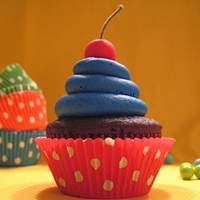 Cherry Topper Cupcake