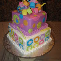 Coach Birthday Cake I made this Coach Birthday cake for my dear cousin inspired by sarahnichole975. This was my very first attempt at a fondant loop bow and...