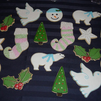 Christmas Cookies Some of the cookies I made while visiting my family at Christmas. I was so taken with the snowman cookies posted by LorenEbert that I had...