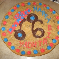 Monster Truck This is cookie cake I did for my nephew's 6th birthday. He is really into Monster Trucks and wanted a cookie and not cake. The cookie...