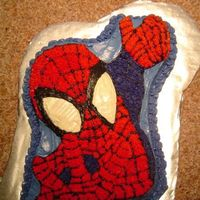 Spider Man Character Cake This is my first, and so far only, character cake. I made it for my nephew's birthday a couple of years ago. Inside is red velvet, and...