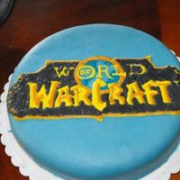 World Of Warcraft  I made this cake for my friends birthday, Im one of the only girls in engineering and all I hear about is world of warcraft, so a WoW cake...