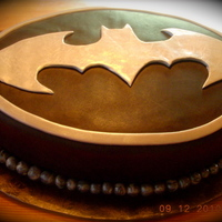 The Dark Knight Groom's Cake