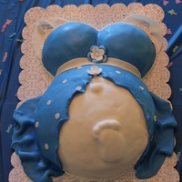 Baby Bump Cake   Baby shower for my daughter in law