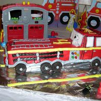 Fire Truck I did this cake for my Son's 4th birthday. This was before I even thought of taking up cake decorating. It was a fun cake!