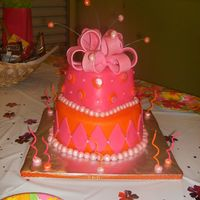 Brittnees Bday Cake i made this for my friend that turned 10 everybody loved it i hope you do too