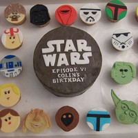 Star Wars Cupcakes Found these on flicker and a customer wanted them so badly, they went nuts for them so who ever you are that made them first, many many...