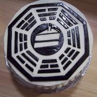 Lost Dharma Initiative Cake fondant for the accents