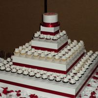 Wedding Cupcakes And Cake