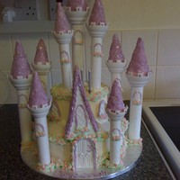 Princess Castle   i made this cake for my daughters 3rd birthday, it was a huge hit,