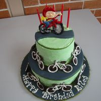 Riley's Bicycle Cake