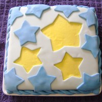 Fondant Stars My first time using fondant! I much prefer buttercream for two reasons: 1. It's way more fun. 2. It tastes waaaaay better. I used...