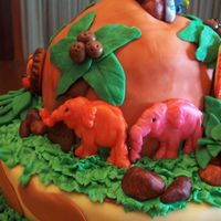 Jungle Birthday Side Of Cake
