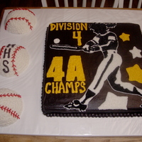 Softball Cake For My Old High School Team