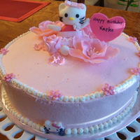 Hello Kitty Cake  I made this Hello Kitty cake for my daughters 6th birthday. It's a chocolate cake, strawberry filling, and whipping cream. All of the...