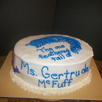 Ms. Gertrude Mcfuzz This cake was for a young girl who was in the Seussical The Musical. Mom ordered the cake by email and misspelled the name. It should read...