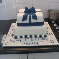 Celebration Cake For A Real Estate Agency