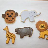 Zoo Cookies My first cookies! Thanks Antonia, Cambo, and all for inspiration!