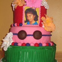 Hawaiian Luau Cake this cake i made for my nieces 10th hawaiian luau birthday party cake is red velvet with butterceam filling as she requested cake is...