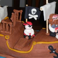 Pirate Cake Pirate ship cake