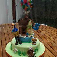 Up... Cake inspired in Pixar´s film Up