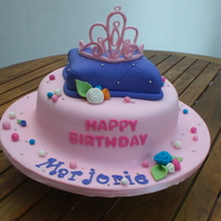 Princess Birthday Cake All made in fondant.. thanks to many of you for the great inspiration that I found here...