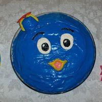 Backyardigans Pablo Cake