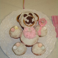 Teddy Bear Baby Shower Cupcake Centerpieces