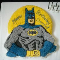 Batman For my grandson's 5th birthday