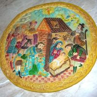 Nativity This is from marcipane all. Coloring petal colors.