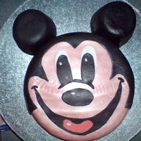Mickey Mouse   this is a cake i made for my great nephews 2nd birthday as he loves mickey mouse
