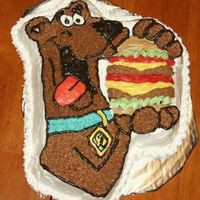 Scooby Doo This was my nephews 3rd birthday cake. It was super simple, except for all those colors! Ugh! I told my husband an hour or so to do the...
