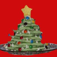 Cookie Cookie Tree I made these for some family Christmas gatherings. I used the No-Fail Sugar Cookie recipe and dyed it green for the cookies. I used the...