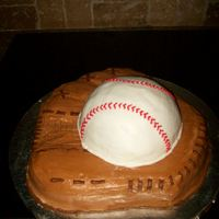 Baseball Glove And Ball   for my son's EOY baseball party