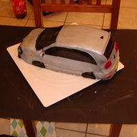 Jetta Gti Birthday Cake This was the second cake I made. I really wasn't happy with it, but I thought it was pretty good for my first car cake. I learned a...
